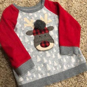 Mudpie reindeer sweatshirt